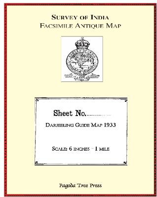 DARJEELING1933GUIDEMAPCOVER
